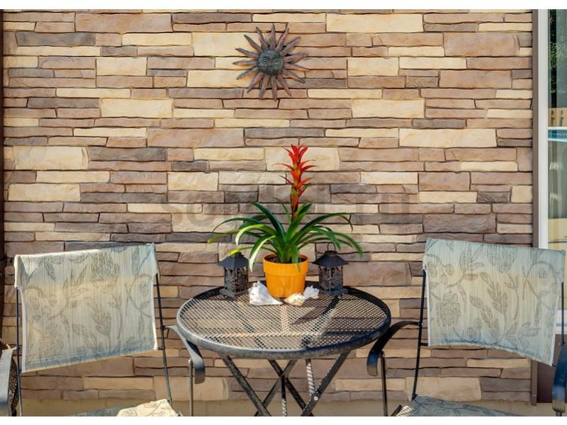 Nailite Stacked Stone Premium - Santa Fe / Жемчужный