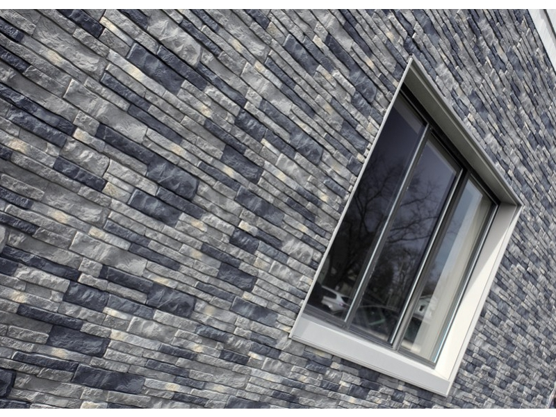 Фасадная панель Nailite Stacked Stone Premium - Lewiston Crest