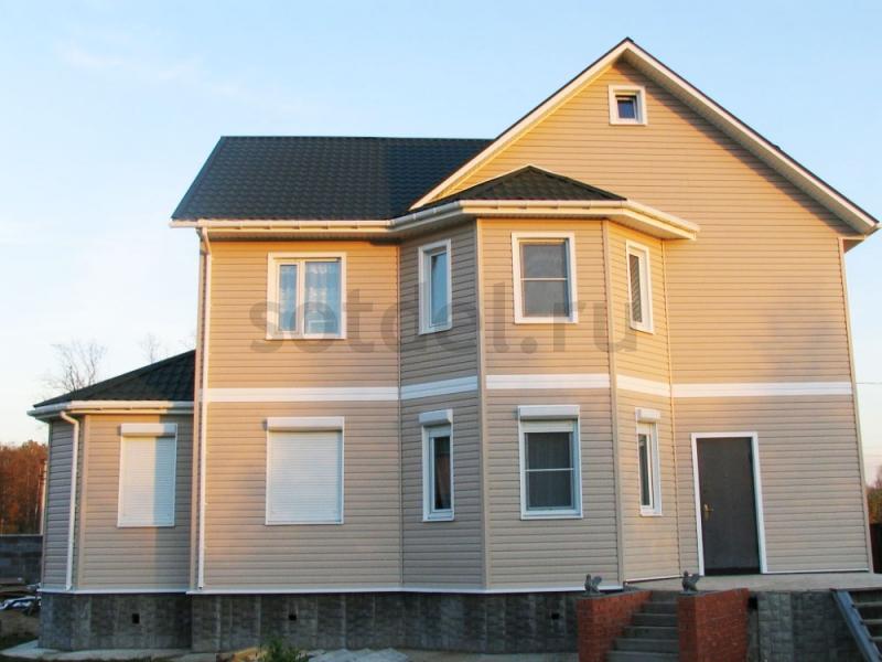 Солнечный фасад из Миттен Орегон Прайд, цвет Sandalwood