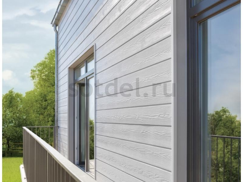 Фиброцементный сайдинг кедрал примеры домов с указанием цвета