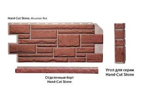 Nailite Отделочный борт Hand-Cut Stone 813*45 мм