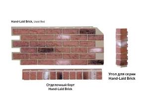 Nailite Отделочный борт Hand-Laid Brick 914*92 мм