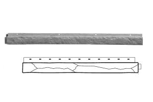 Nailite Отделочный борт Stacked Stone 914*92 мм