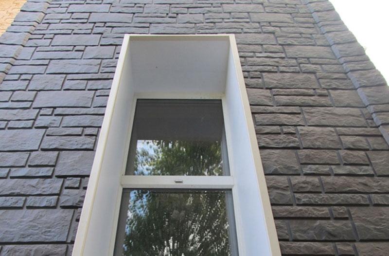 Фасадные панели Деке серии «Burg» под камень