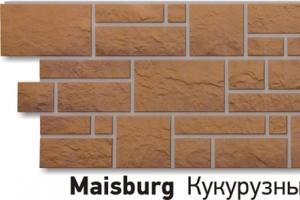 Панель «Burg» под камень, цвет кукурузный цена 583 руб. при покупке в компании «Сотдел» (Екатеринбург)