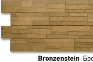Панель «Stein» бронзовый