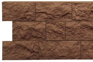 Панель «Fels» под природную скальную породу, цвет ржаной цена 594 руб. при покупке в компании «Сотдел» (Екатеринбург)